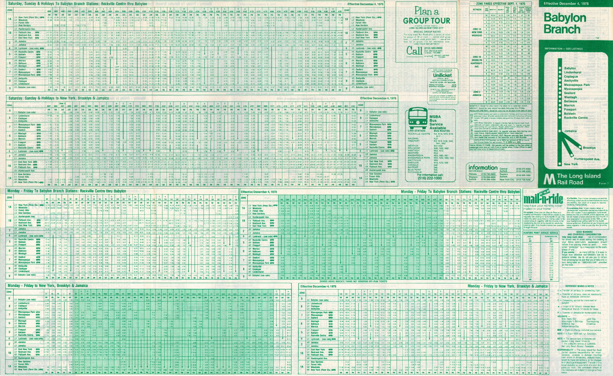 old public railroad schedules